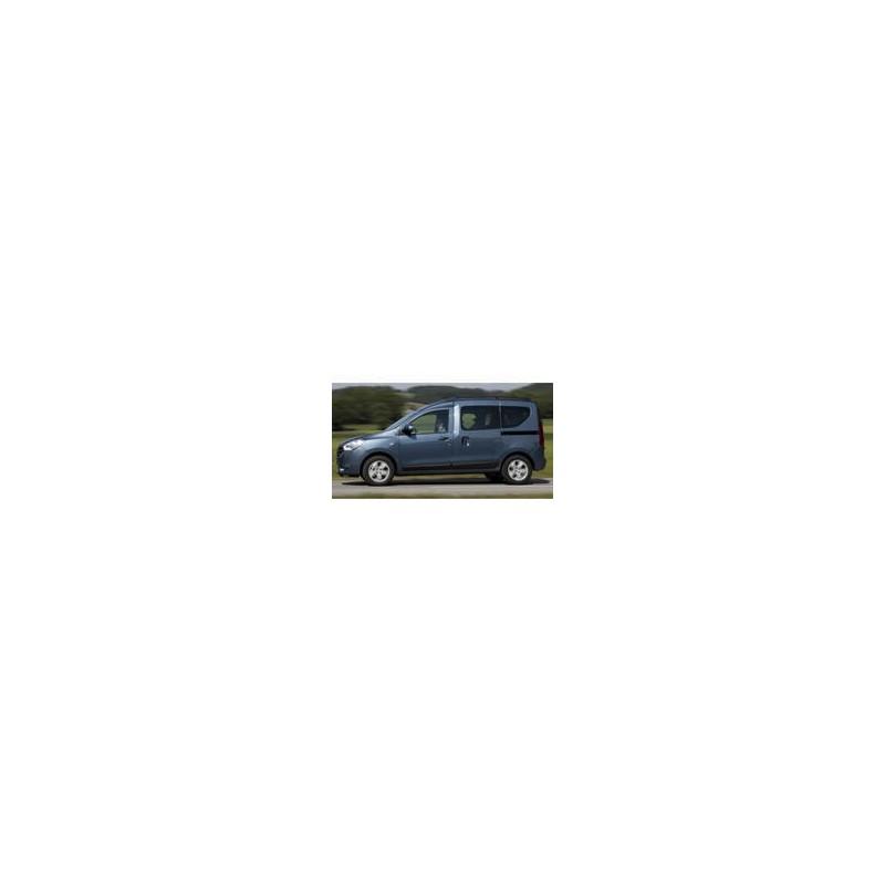 Kit film solaire Dacia Dokker (1) 6 portes (depuis 2013) 2 portes latérales