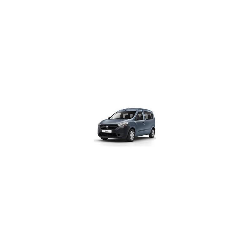 Kit film solaire Dacia Dokker (1) 5 portes (depuis 2013) 1 porte latérale