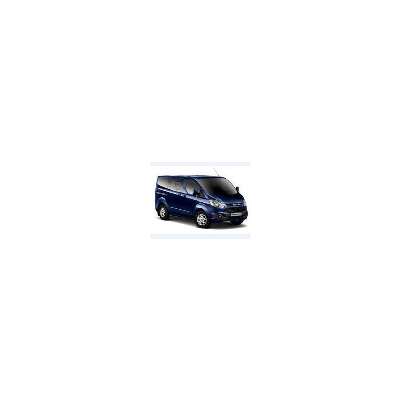 Kit film solaire Ford Custom Transit (1) Court 5/6 portes (depuis 2013) 1 porte latérale, vitres ouvrantes et 2 portes arrières