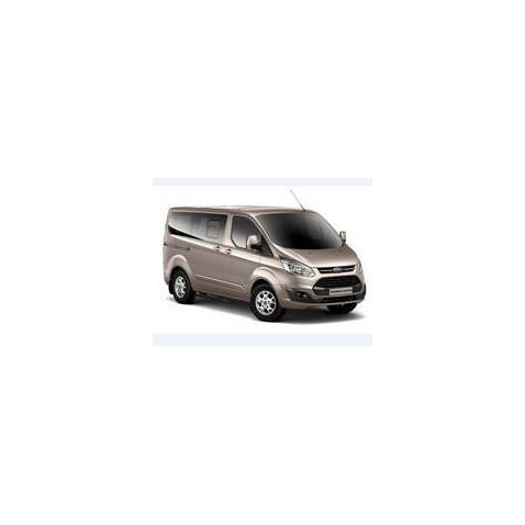 Kit film solaire Ford Custom Transit (1) Custom Court 4/5 portes (depuis 2013) 2 portes latérales, vitres ouvrantes et hayon