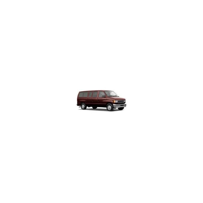Kit film solaire Ford E-Series (4) Court 6 portes (1993 - 2013) 2 portes latérales côté droit