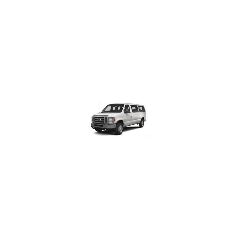 Kit film solaire Ford E-Series (4) Court 5 portes (1993 - 2013) 1 porte latérale à droite