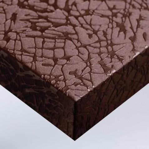 Film adhésif décoration d'intérieur tissus craquelé cuivre pour vos meubles comme pour vos murs