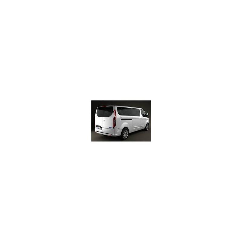 Kit film solaire Ford Custom Transit (1) LONG 5 portes (depuis 2014) 1 porte latérale, vitres fixes et 2 portes arrières