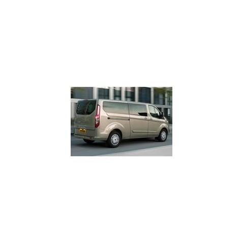 Kit film solaire Ford Custom Transit (1) LONG 6 portes (depuis 2014) 1 porte latérale, vitres ouvrantes et 2 portes arrières