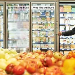 Film anti buée pour miroir ou vitre de salle de bain et de cuisine