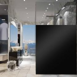 Rouleau vinyle adhésif monomère noir mat sans reflet