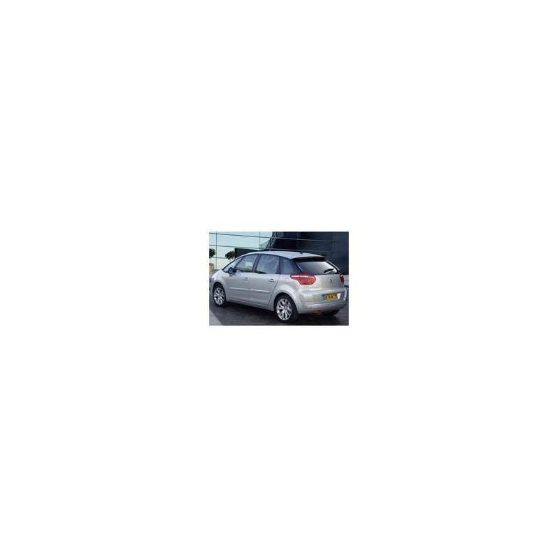 Kit film solaire Citroën C4 (1) Picasso 5 portes (2006 - 2013) 5 places, lunette ouvrante