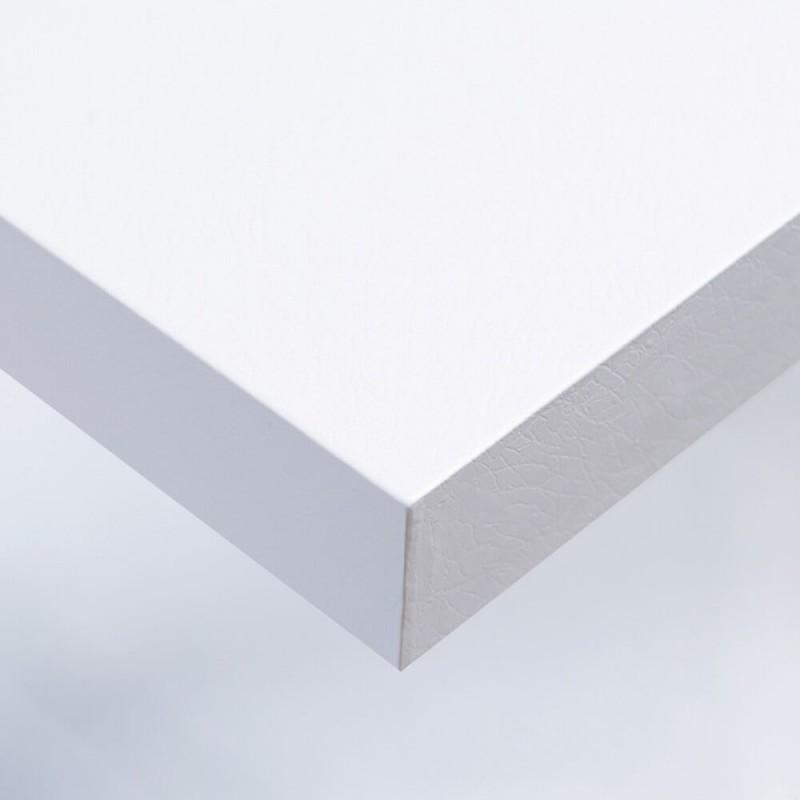 Film adhésif cuir blanc pour murs et maison