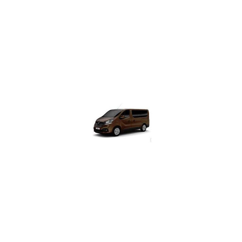 Kit film solaire Fiat Talento (2) Long 5/6 portes (depuis 2016) vitres coulissantes et 2 portes arrières