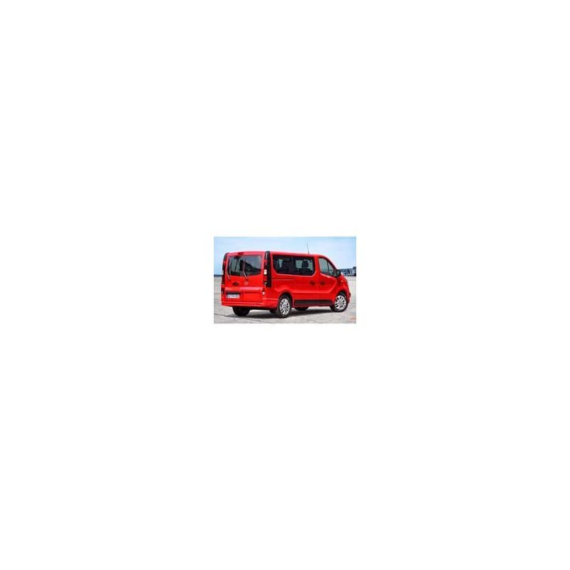Kit film solaire Fiat Talento (2) Court 5/6 portes (depuis 2016) vitres coulissantes et 2 portes arrières
