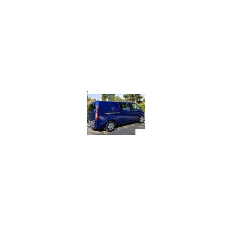 Kit film solaire Ford Custom Transit (1) Utilitaire 6 portes (depuis 2014) 2 portes latérales, vitres fixes et 2 portes arriéres