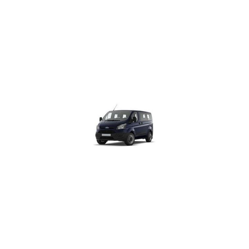Kit film solaire Ford Custom Transit (1) Long 6 portes (depuis 2014) 2 portes latérales, vitres fixes, 2 portes arrières