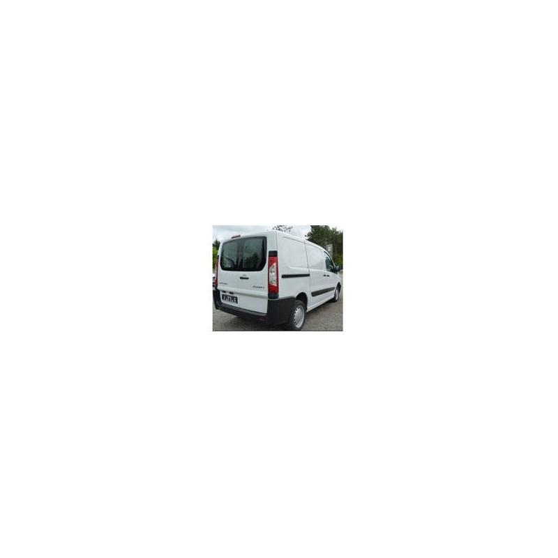 Kit film solaire Citroën Jumpy (2) Utilitaire 4/5/6 portes (2007 - 2017) 2 vitres arrières avec essuies glaces