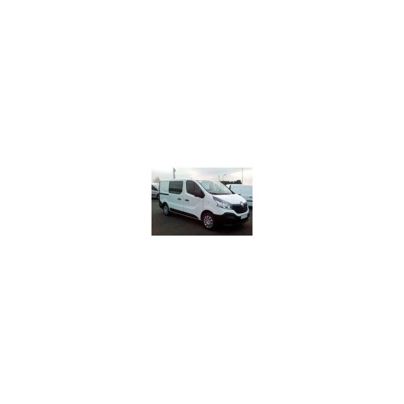 Kit film solaire Fiat Talento (2) Utilitaire 5 portes (depuis 2016) 1 porte latérale, 1 vitre fixe à droite et 2 portes arrières