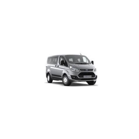 Kit film solaire Ford Custom Transit (1) Court 4 portes (depuis 2014) 1 porte latérale vitres ouvrantes et hayon