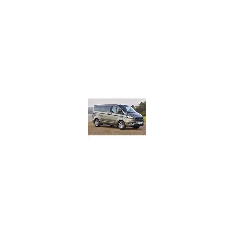 Kit film solaire Ford Custom Transit (1) Court 6 portes (depuis 2014) 2 portes latérales, vitres ouvrantes et 2 portes arrières