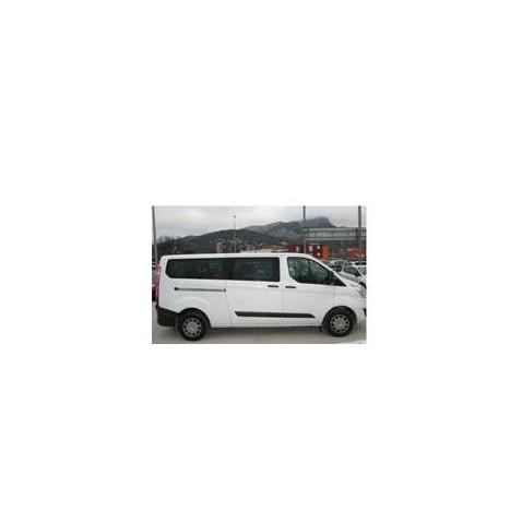 Kit film solaire Ford Custom Transit (1) Long 5 portes (depuis 2014) 2 portes latérales, vitres fixes et hayon