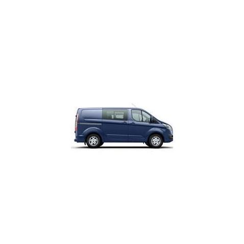 Kit film solaire Ford Custom Transit (1) Utilitaire 6 portes (depuis 2014) 1 porte latérale, vitres ouvrantes et 2 portes arrières
