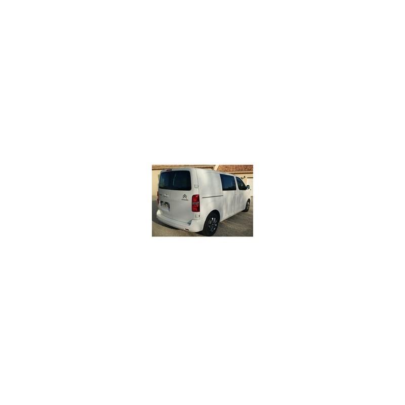 Kit film solaire Citroën Jumpy (3) Standard / Long Utilitaire 5/6 portes (depuis 2016) 1 vitre coulissante gauche, 1 vitre fixe droite et 2 portes arrières sans essuie glace