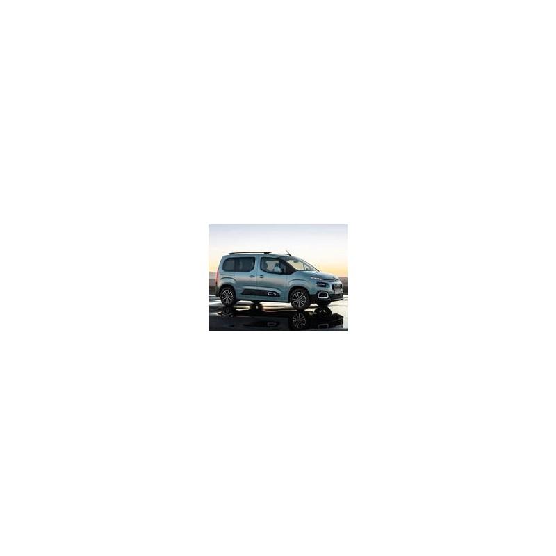 Kit film solaire Citroën Berlingo (3) Court 6 portes (depuis 2018) vitres entrouvrantes et 2 portes arriéres, avec essuies glaces