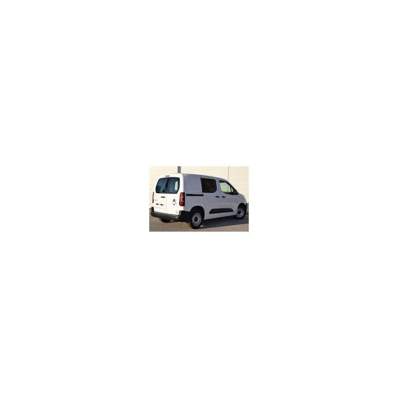 Kit film solaire Citroën Berlingo (3) Utilitaire 6 portes (depuis 2018) 2 portes latérales vitres fixes et 2 portes ar avec essuies glaces