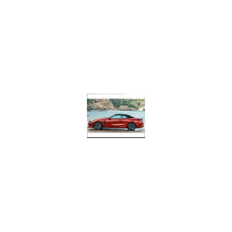 Kit film solaire Bmw Serie 8 (2) Cabriolet 2 portes (depuis 2019)