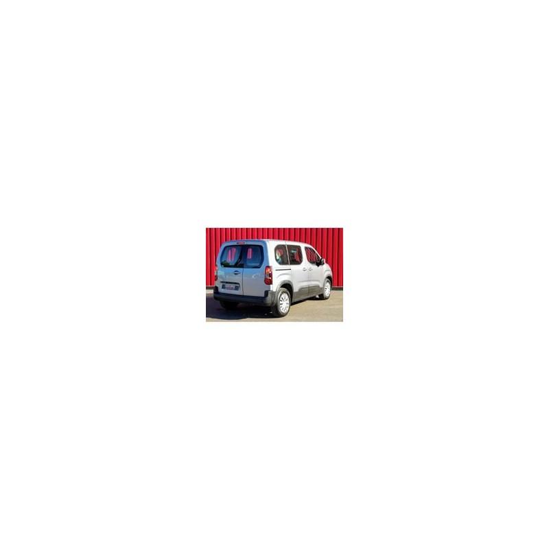 Kit film solaire Citroën Berlingo (3) Court 5-6 portes (depuis 2018) vitres fixes, 2 portes arrieres