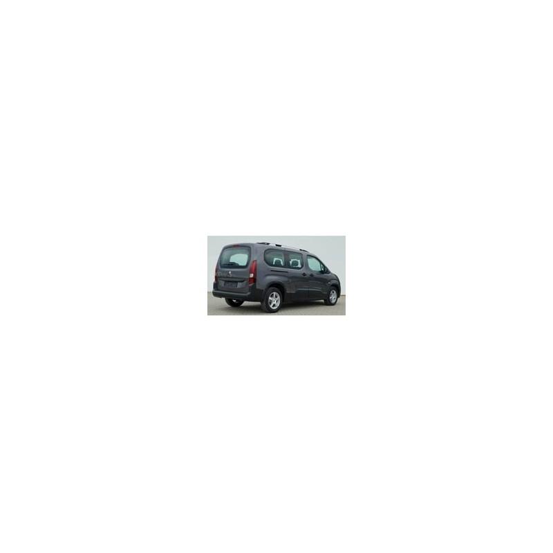 Kit film solaire Citroën Berlingo (3) Long 4-5 portes (depuis 2018) vitres decendantes hayon fixe