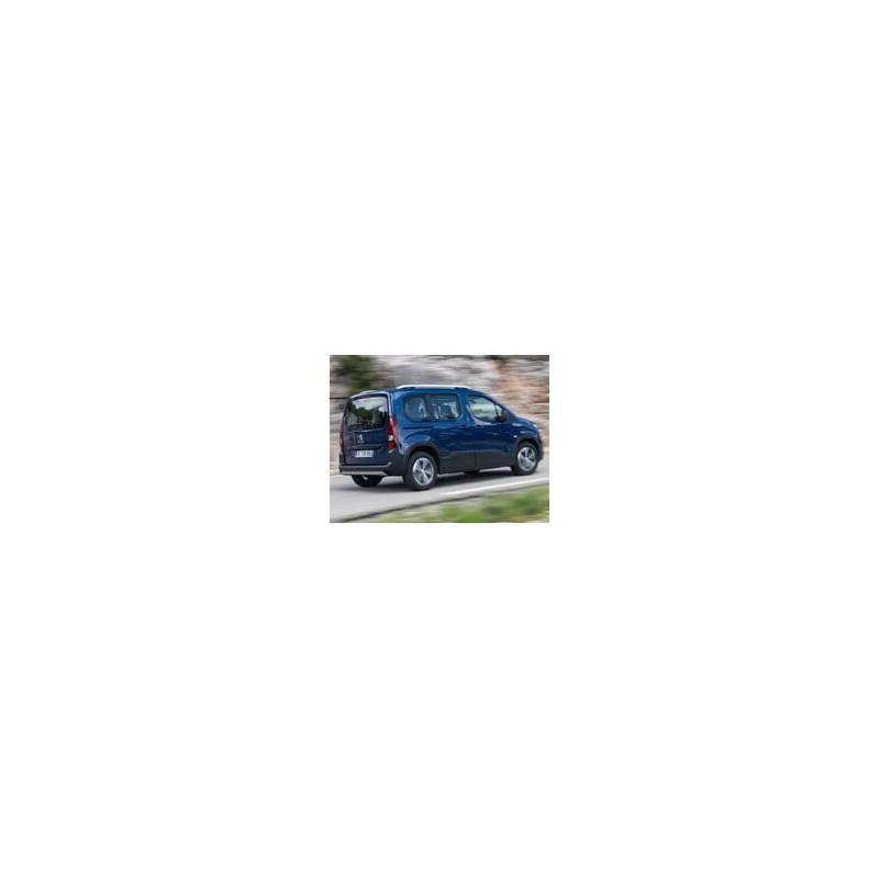 Kit film solaire Citroën Berlingo (3) Court 4-5 portes (depuis 2018) vitres fixes, hayon fixe