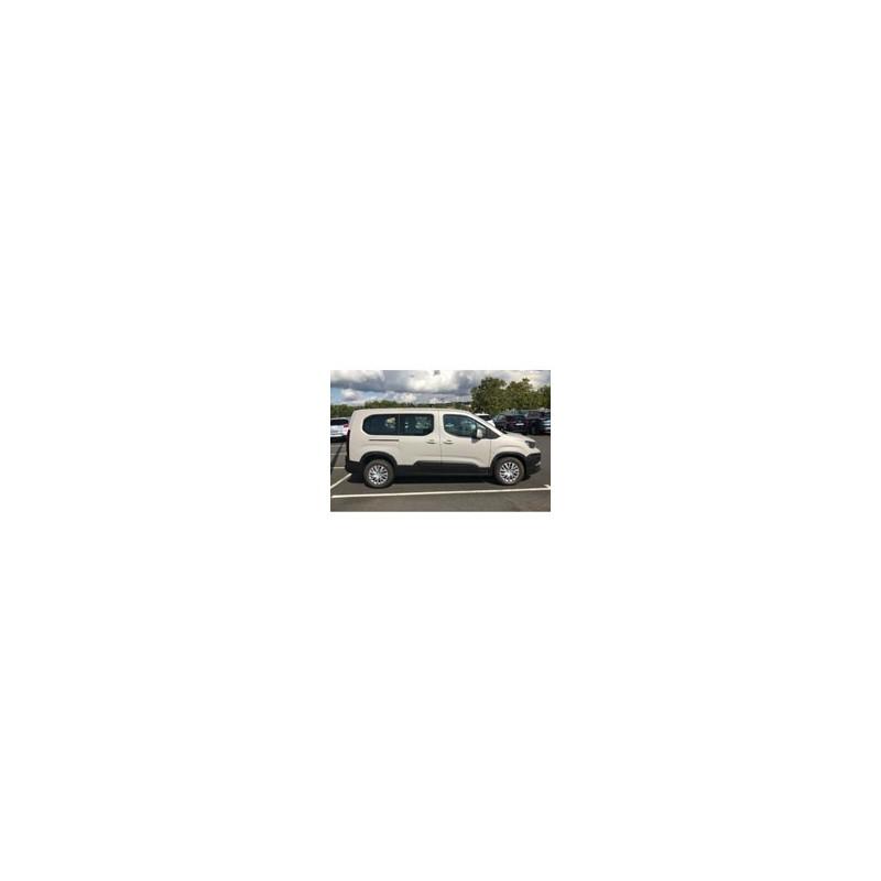 Kit film solaire Citroën Berlingo (3) Long 4-5 portes (depuis 2018) vitres fixes, hayon ouvrant