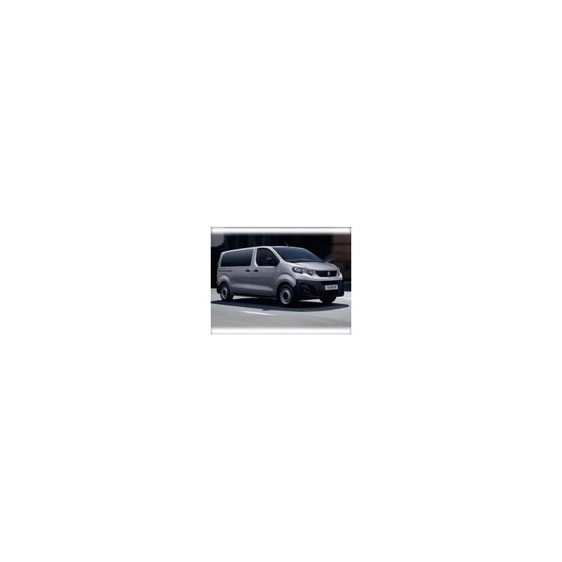 Kit film solaire Citroën Jumpy (3) Standard 5/6 portes (depuis 2016) vitres fixes, 2 portes ar sans essuie-glace