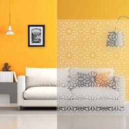 Film decoration design int 480 Vitrail depoli
