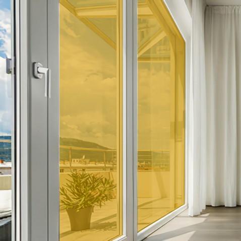 Film couleur jaune citron transparent