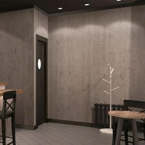 Revêtement mural effet bois de chêne à lignes grises