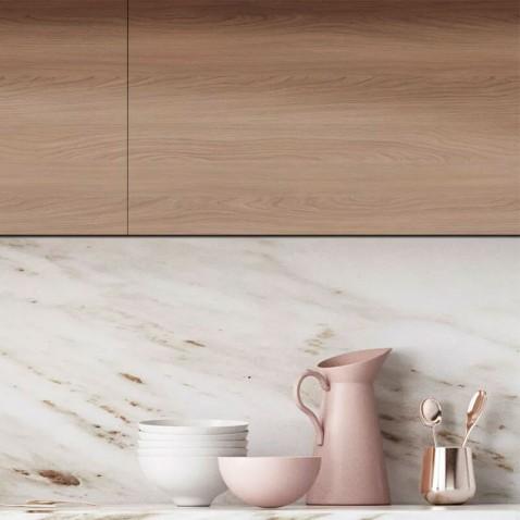 Revêtement mural effet bois de chêne