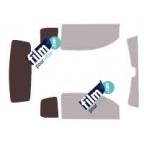 Kit film solaire prédécoupé Fiat GRANDE PUNTO 5 portes (2005-2009)