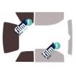 Kit film solaire Aixam Crossline 3 portes (2006 - 2015)
