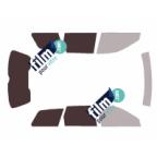 Kit film solaire prédécoupé Fiat BRAVO 5 portes (Depuis 2007)