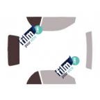 Kit film solaire prédécoupé Fiat 500 3 portes (Depuis 2007)