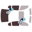 Kit film solaire Bmw Serie 7 (5) Berline 4 portes (2008 - 2015)