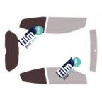 Kit film solaire prédécoupé Ford RANGER 2 portes et King Cab (1997-2005)