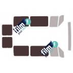 Kit film solaire prédécoupé Ford RANGER 2 portes (2006-2011)
