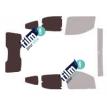 Kit film solaire Citroën Nemo (1) 5 portes (depuis 2008) vitré avec hayon