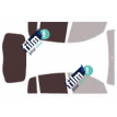 Kit film solaire Dacia Sandero (1) 5 portes (2008 - 2013)