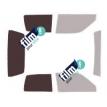 Kit film solaire Fiat Cinquecento 3 portes (1992 - 1998)