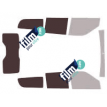 Kit film solaire Fiat Doblo (2) Maxi 5 portes (depuis 2009) vitres descendantes et hayon
