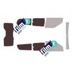 Kit film solaire prédécoupé Ford KUGA 5 portes (2008-2013)