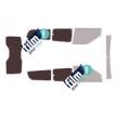Kit film solaire Fiat Doblo (2) Maxi 5 portes (depuis 2009) vitres entrouvrantes et hayon