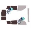 Kit film solaire Fiat Doblo (2) 6 portes (depuis 2009) vitres entrouvrante et 2 portes arrières